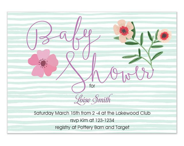rsvp website for baby shower