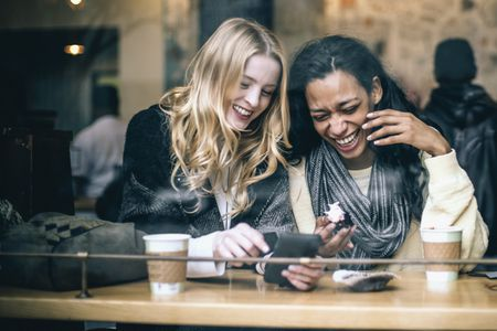 fun in the coffee shop write a friendship letter to show your pal how much you appreciate her