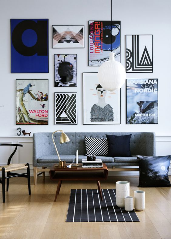 25 Great Design Ideas For Gallery Walls