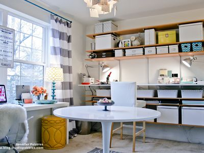 Serious Craft Room Ideas For Crafters Interior Decorating