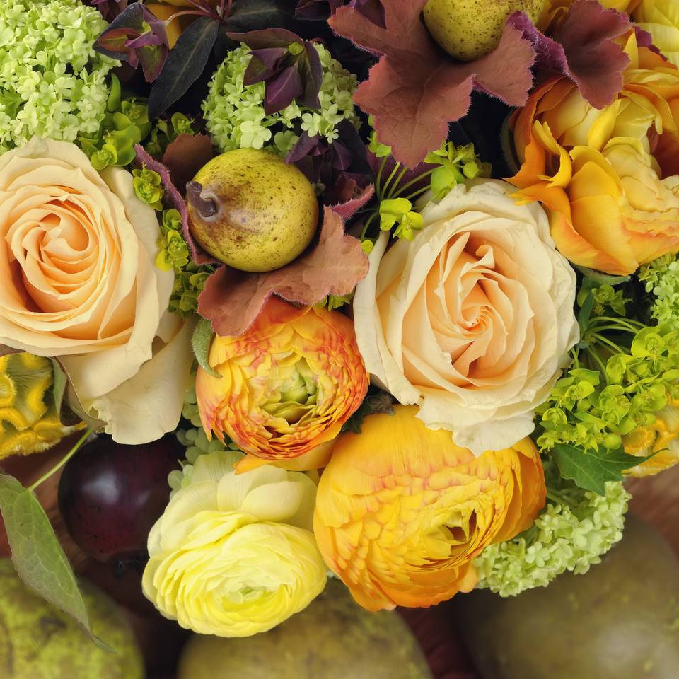 Fall Wedding Flower Gallery