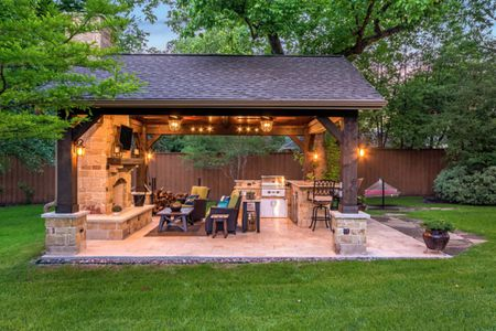 Terrific 50 Enviable Outdoor Kitchens For Every Yard Home Interior And Landscaping Palasignezvosmurscom