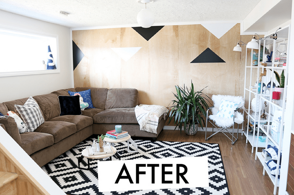 Best Of Basement Makeover before and after