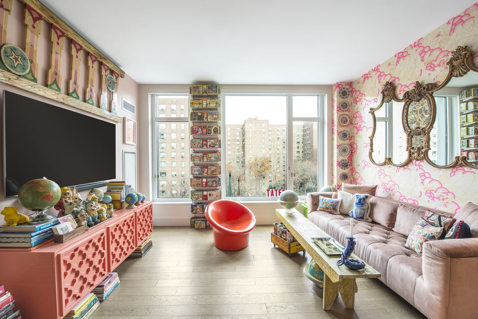 A maximalist apartment