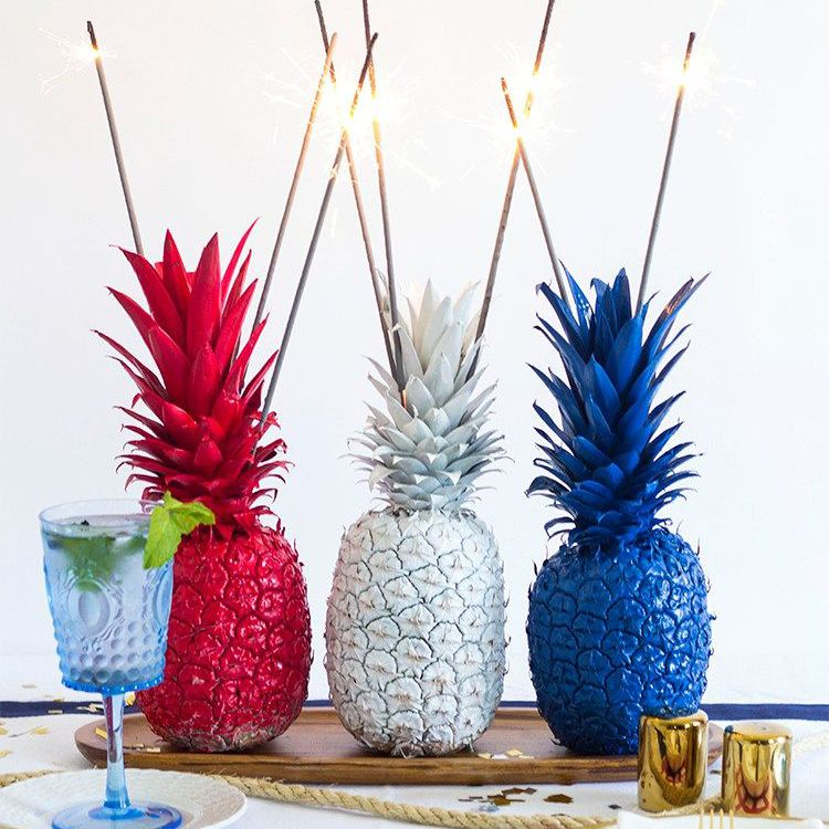 Pineapple Sparklers