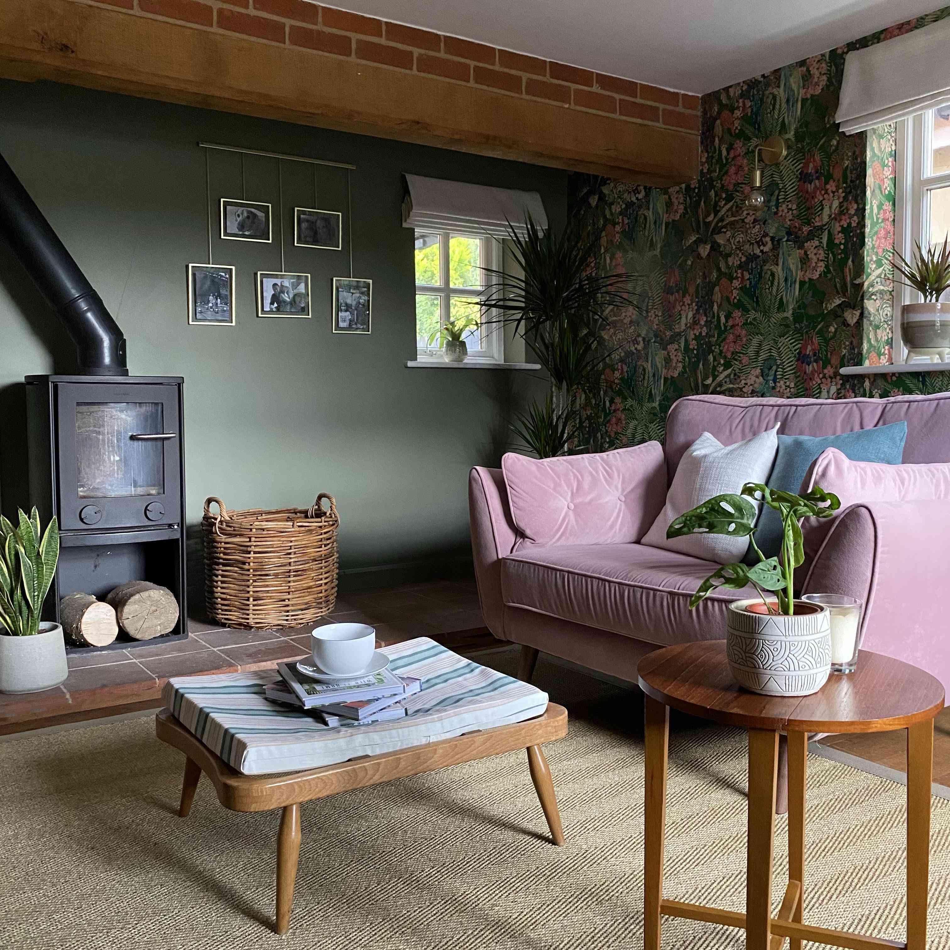 a living area features plenty of plants