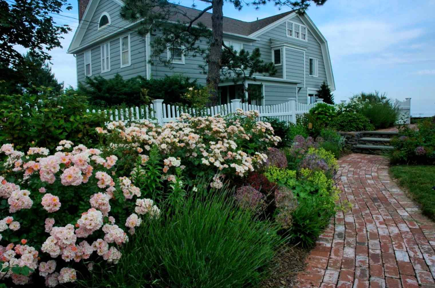 ideas de jardines de cabañas