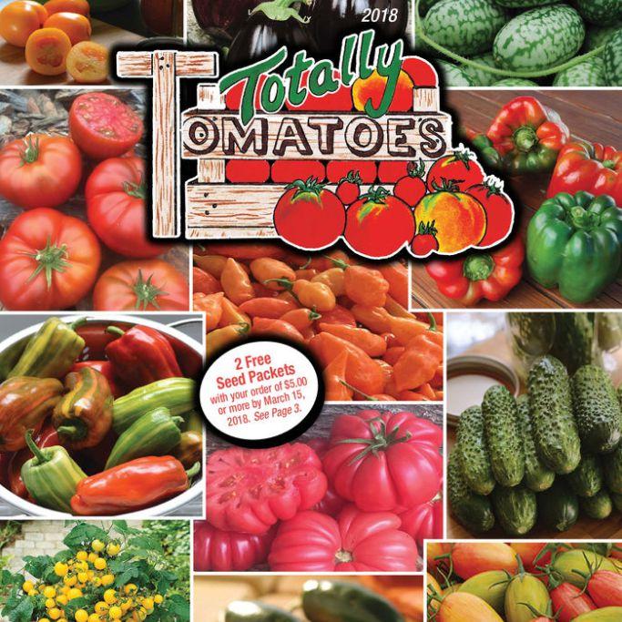 Catálogo de semillas The Totally Tomatoes 2018