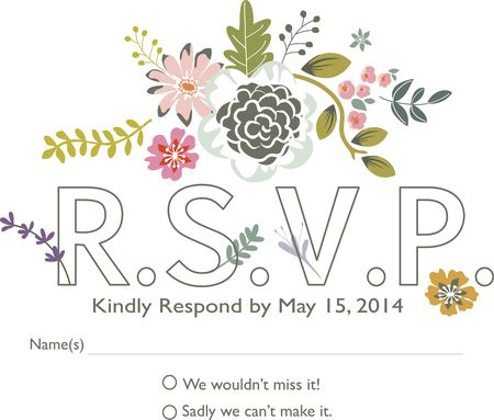 How To Fill Out A Wedding Rsvp.How To Word Your Rsvps