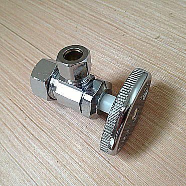 compression shutoff valve