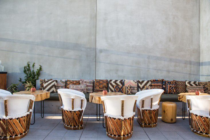 Equipale Chairs at Ace Hotel Los Angeles