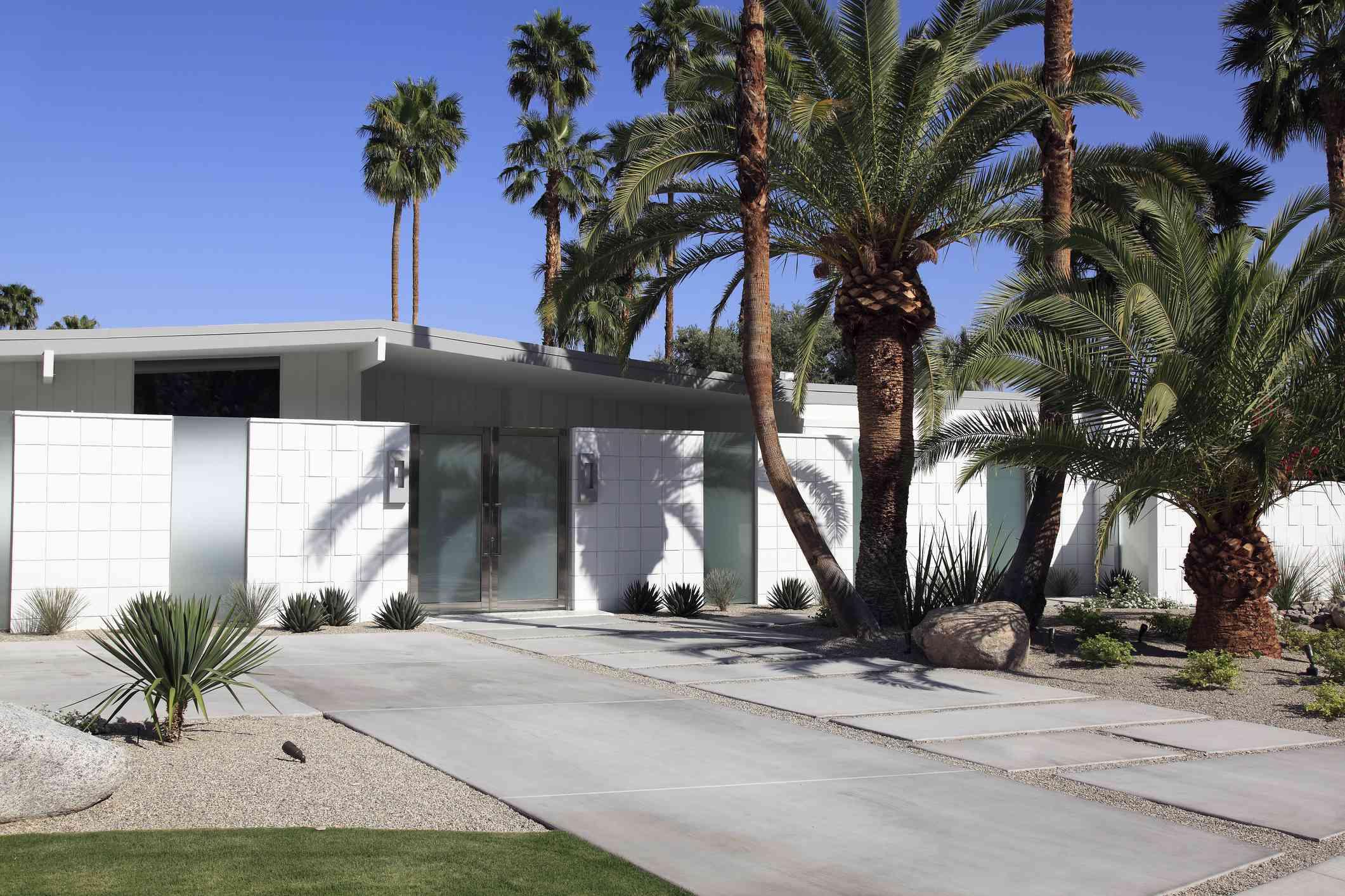 midcentury modern style home