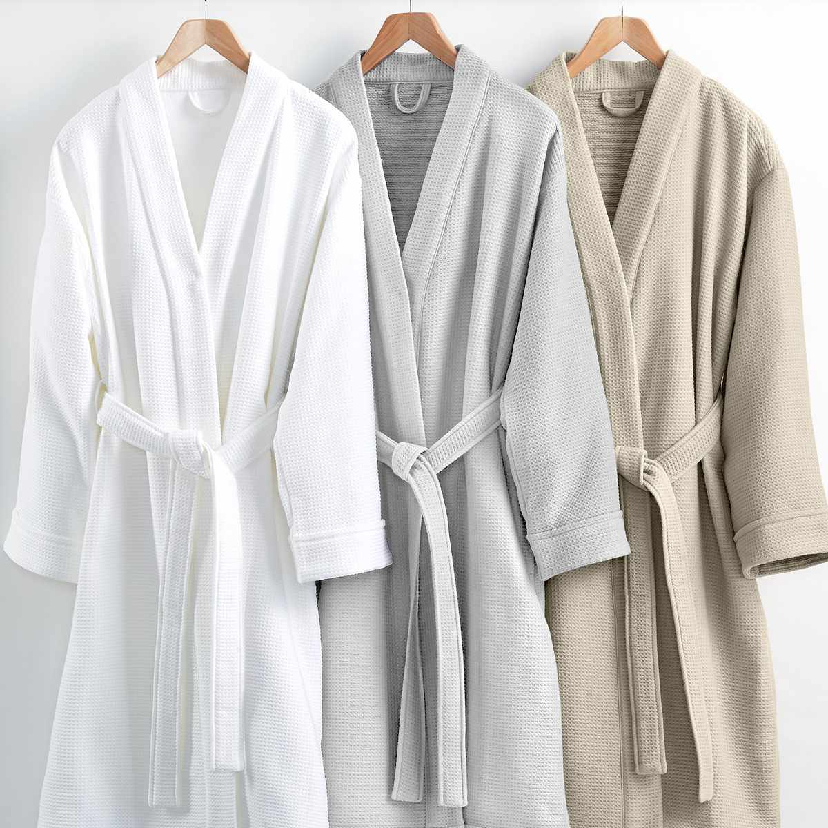 9dbcb0daaf Best Spa-Like  Hotel Collection Waffle Weave Robe