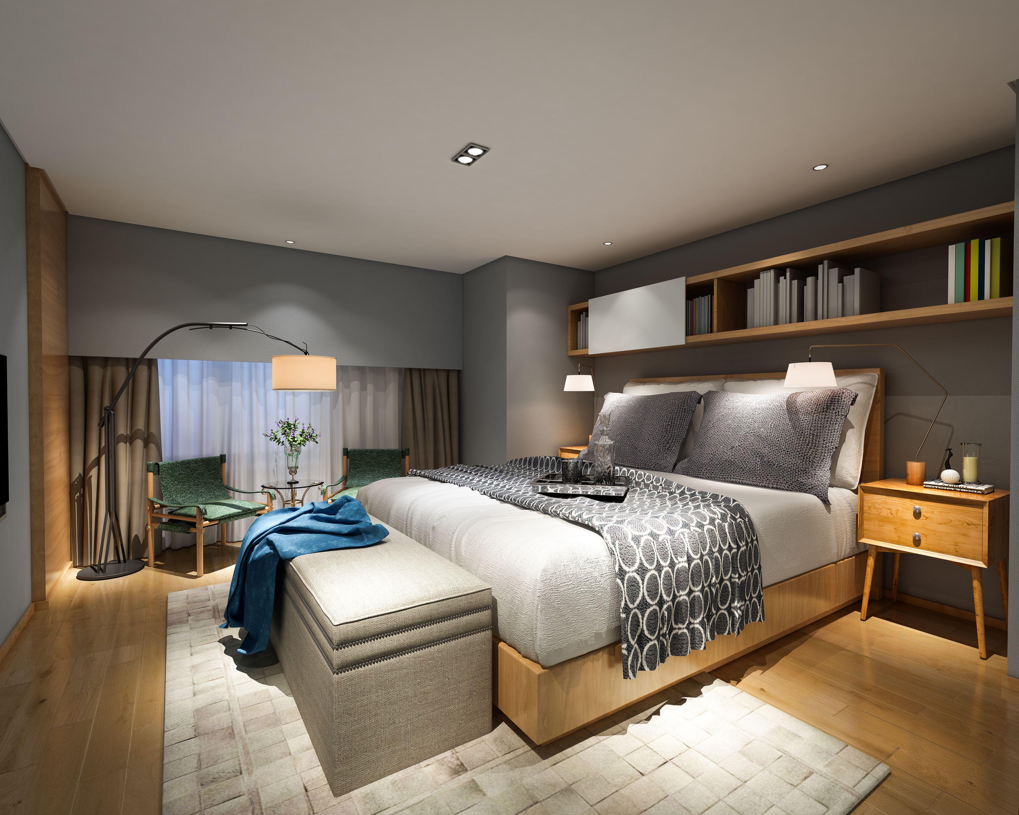 Modern Bedroom Style Interior