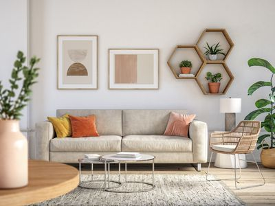 White Modern Couch