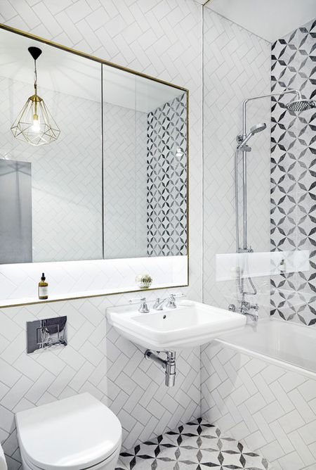 Monochrome Style Bathroom
