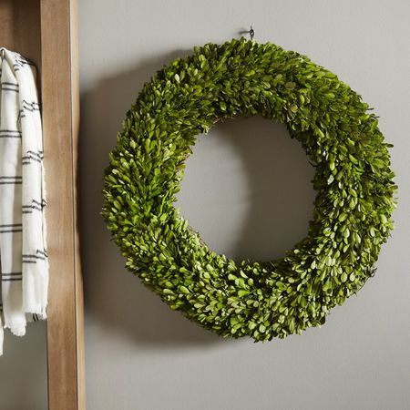 wayfair boxwood wreath