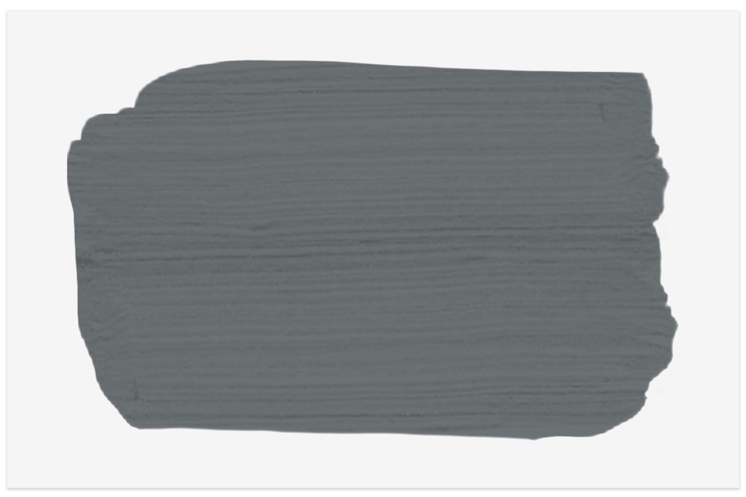 The Spruce paint color swatch in Stormy Skies