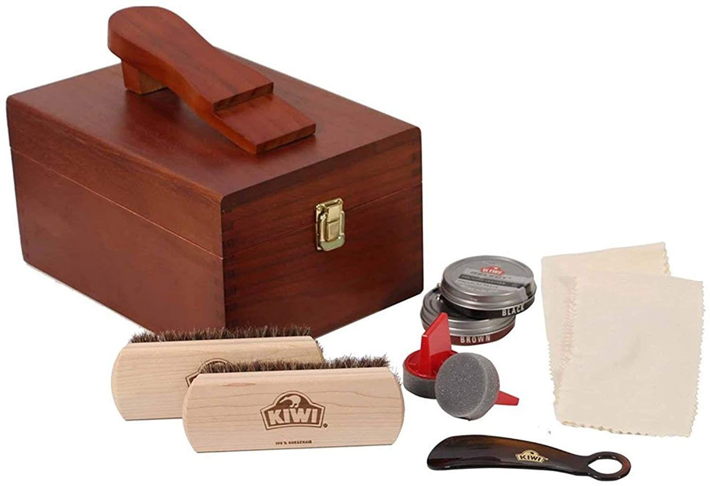 KIWI Select Shoe Care Valet Kit