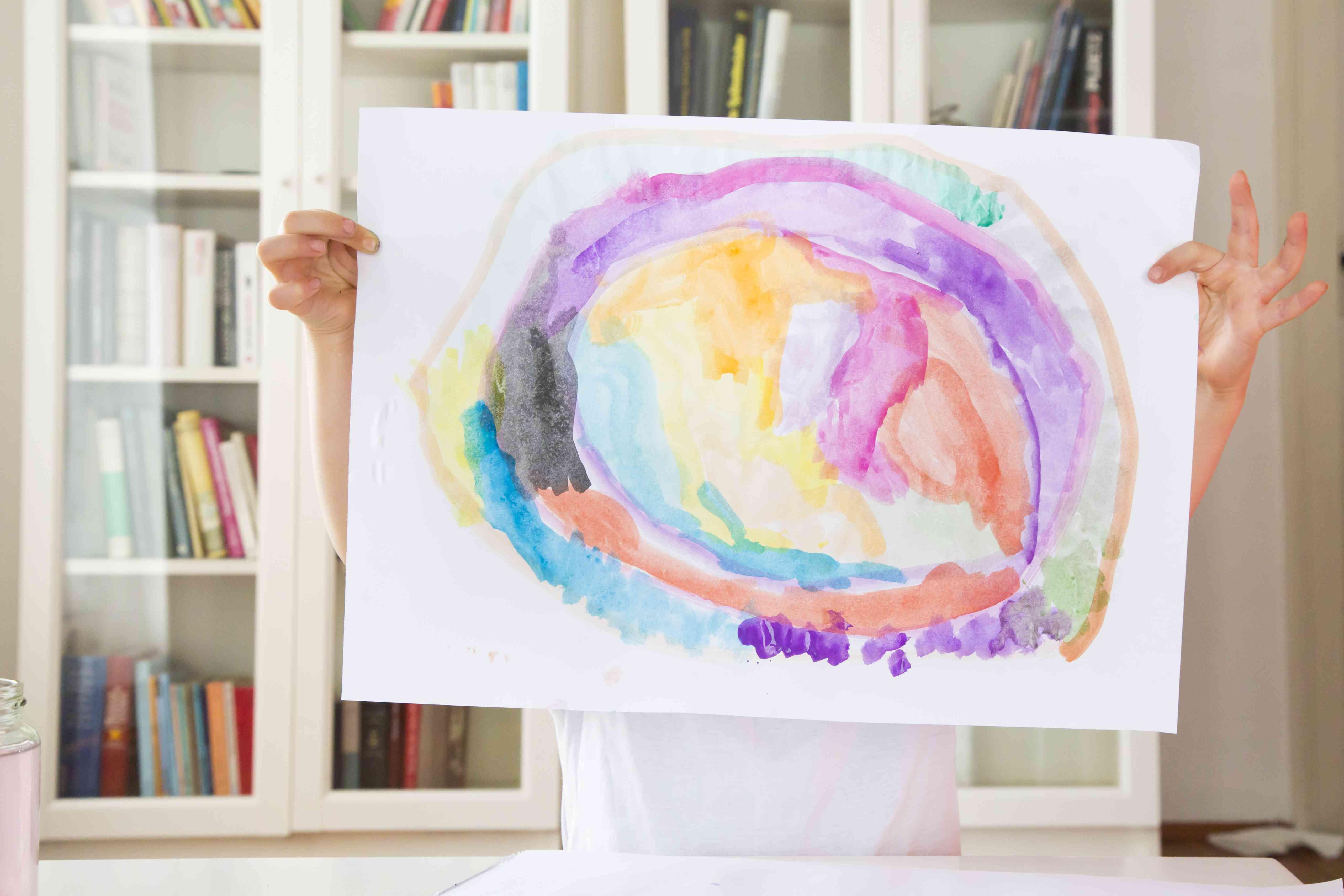 Organice el arte de su hijo