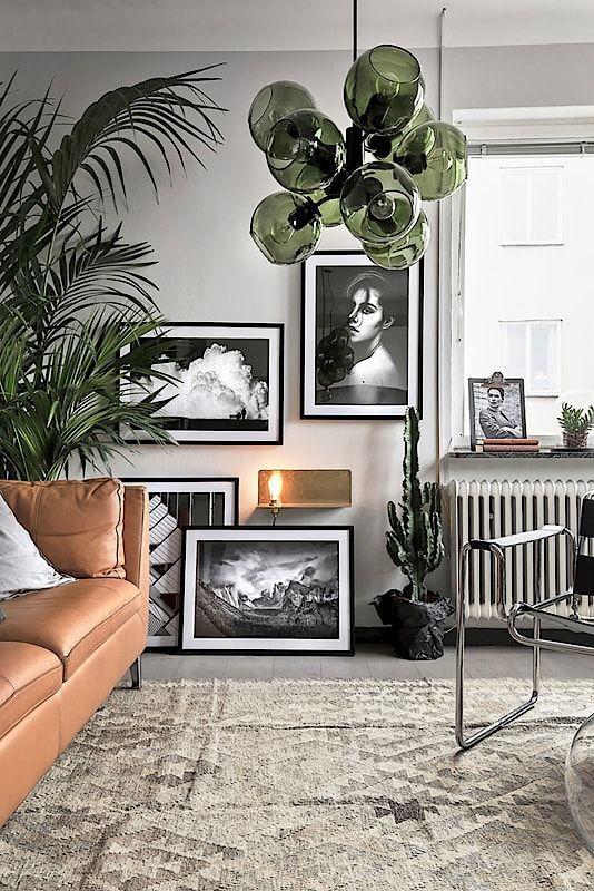 Stylish, modern living room