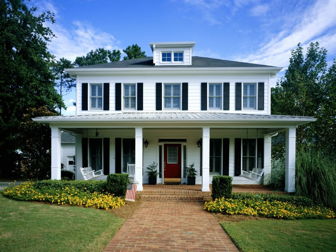 How to Make a New House Look Old