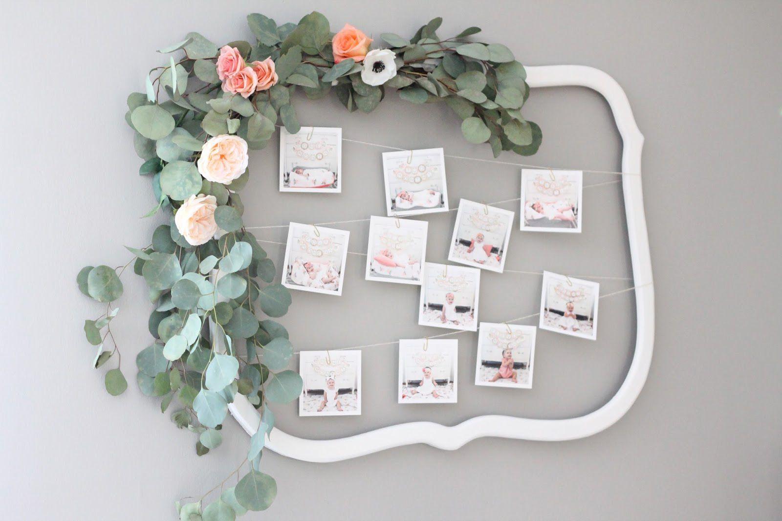 eucalyptus around picture frame
