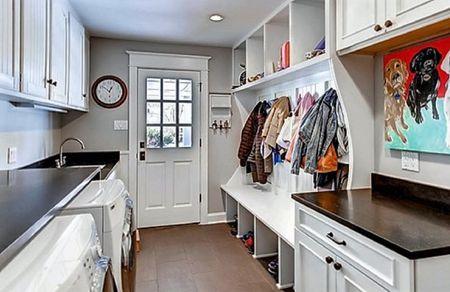 Organize A Laundry Mud Room