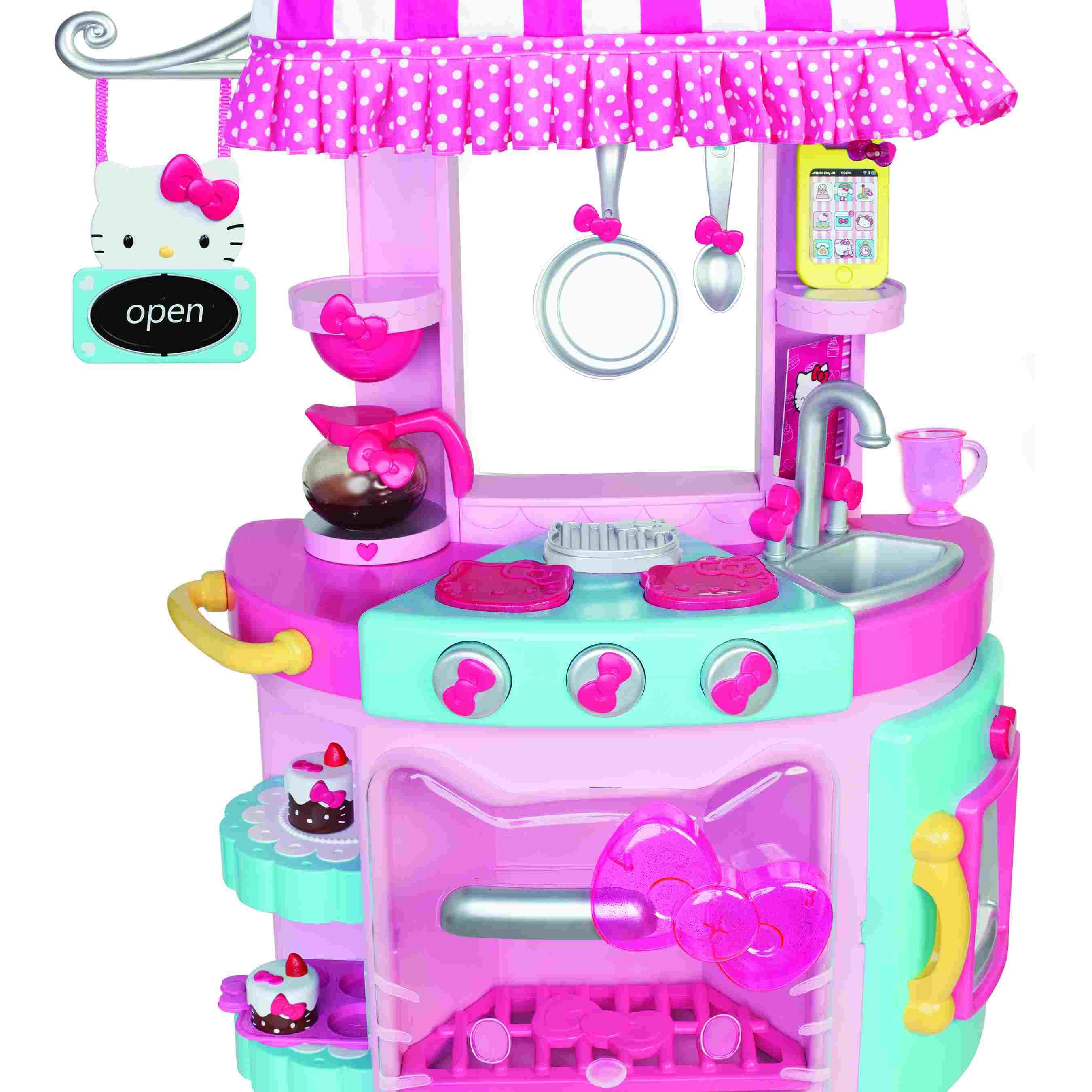 Hello Kitty Wooden Kitchen Set: 11 Best Kids Kitchen Sets