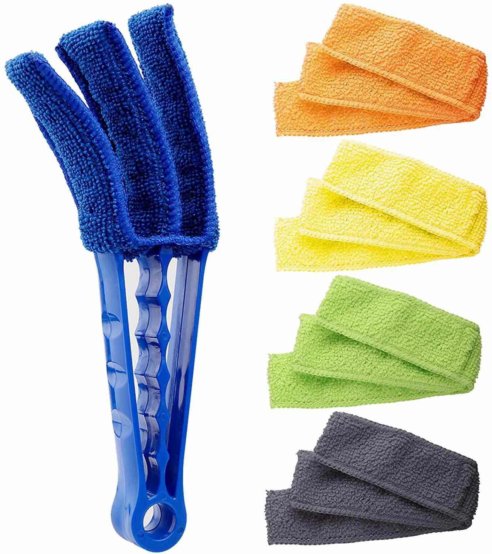 HIWARE Window Blind Cleaner Duster Brush