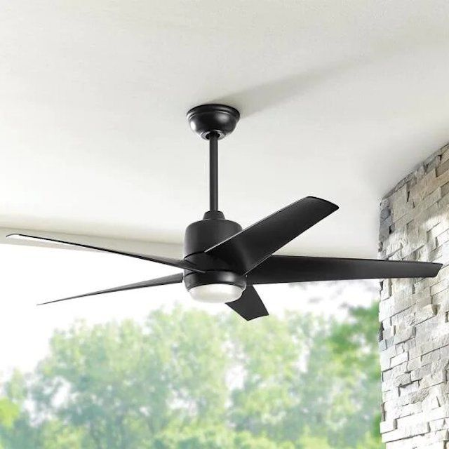 Hampton Bay Mena 54 in. Color Changing Integrated LED Indoor/Outdoor Ceiling Fan
