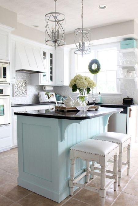 Gabinetes de cocina pintados
