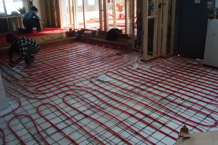 Electric Radiant Floor Heating The Basics - Cost of installing underfloor heating