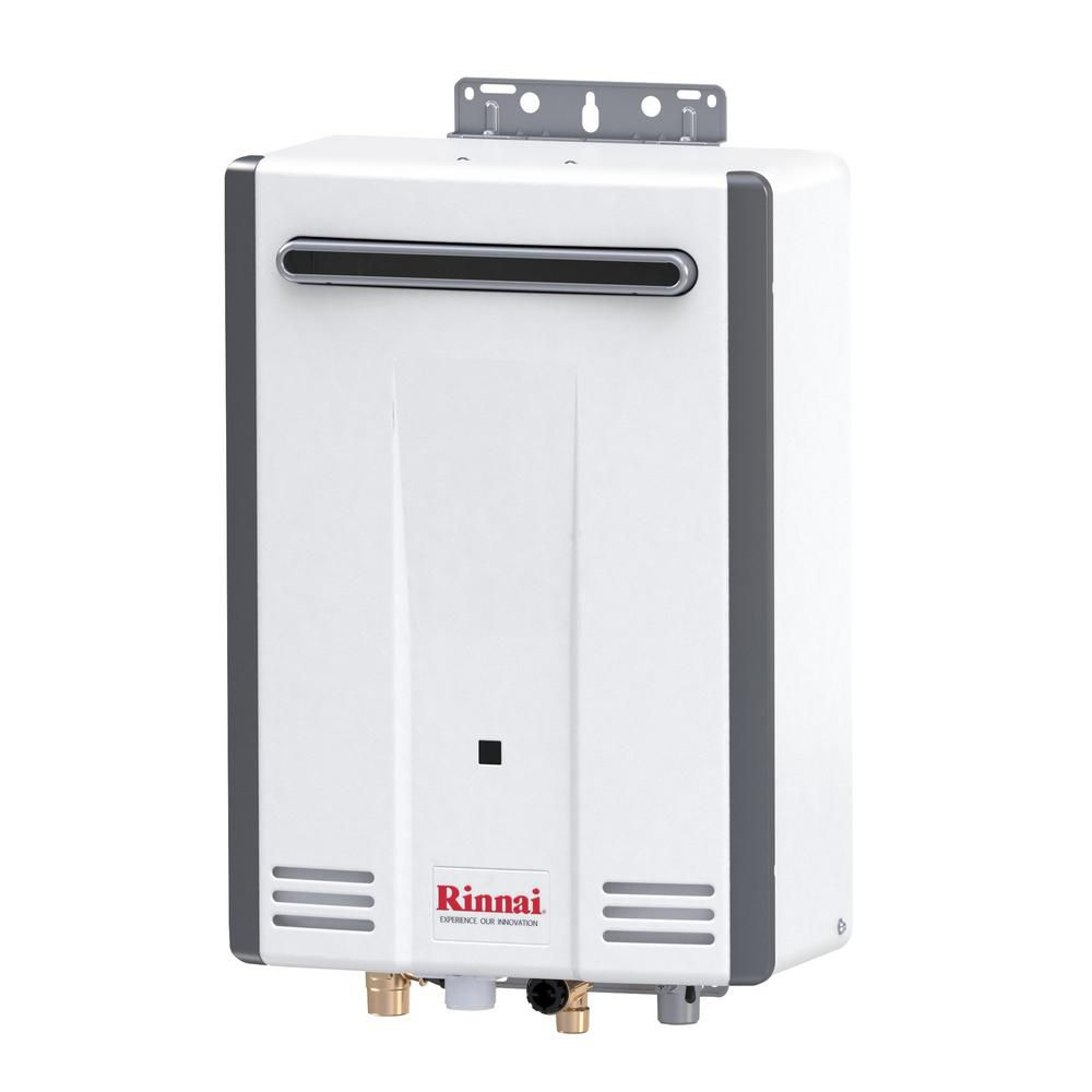 Rianni V53DeN Outdoor 5.6 GPM Residential 120,000 BTU Natural Gas Tankless Water Heater