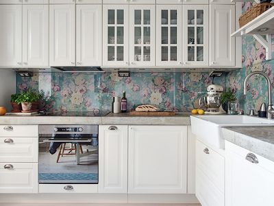 Al Rehab 13 Removable Kitchen Backsplash Ideas