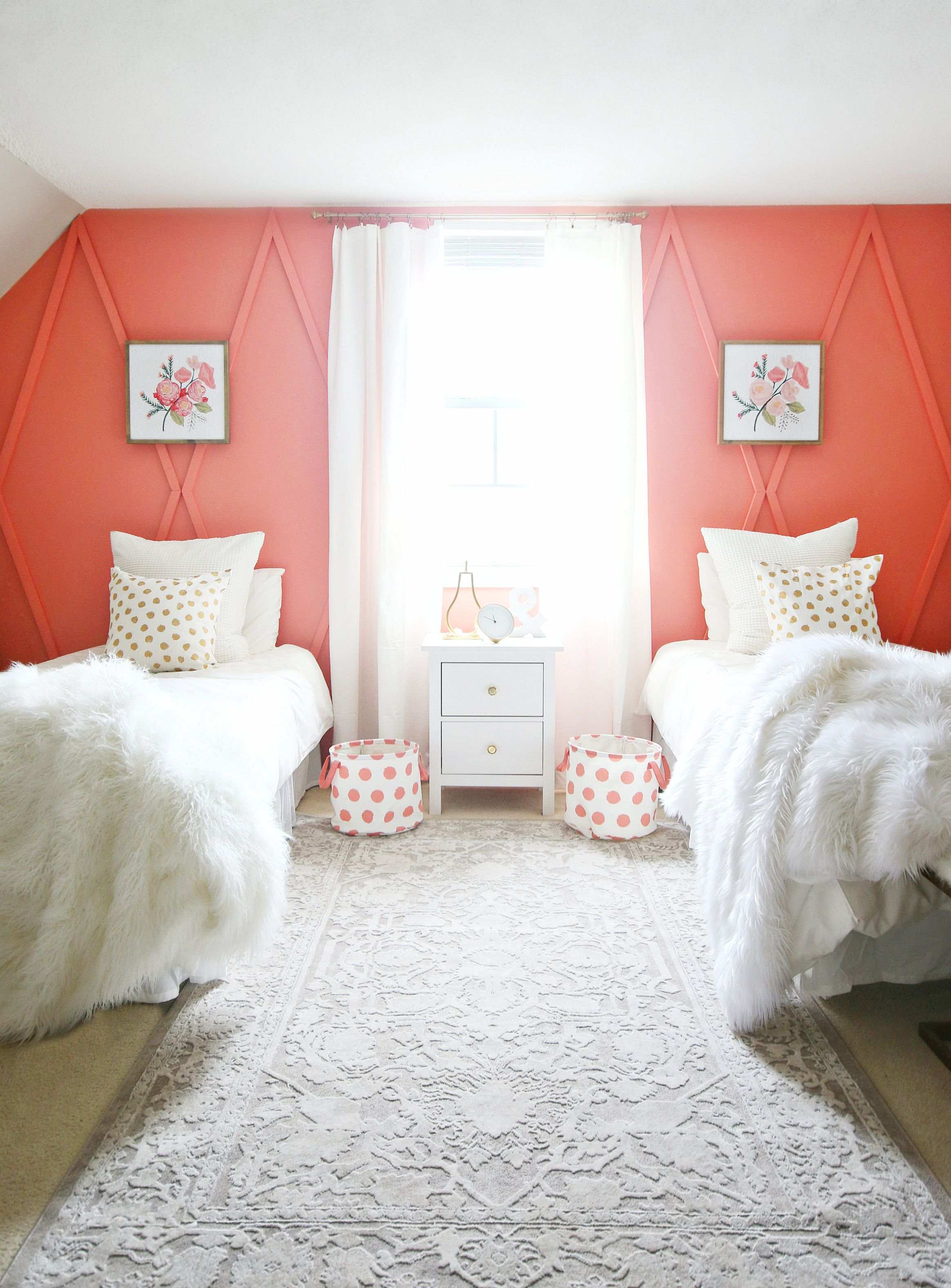 Red Colour Wall: 11 Best Pink Paint Colors