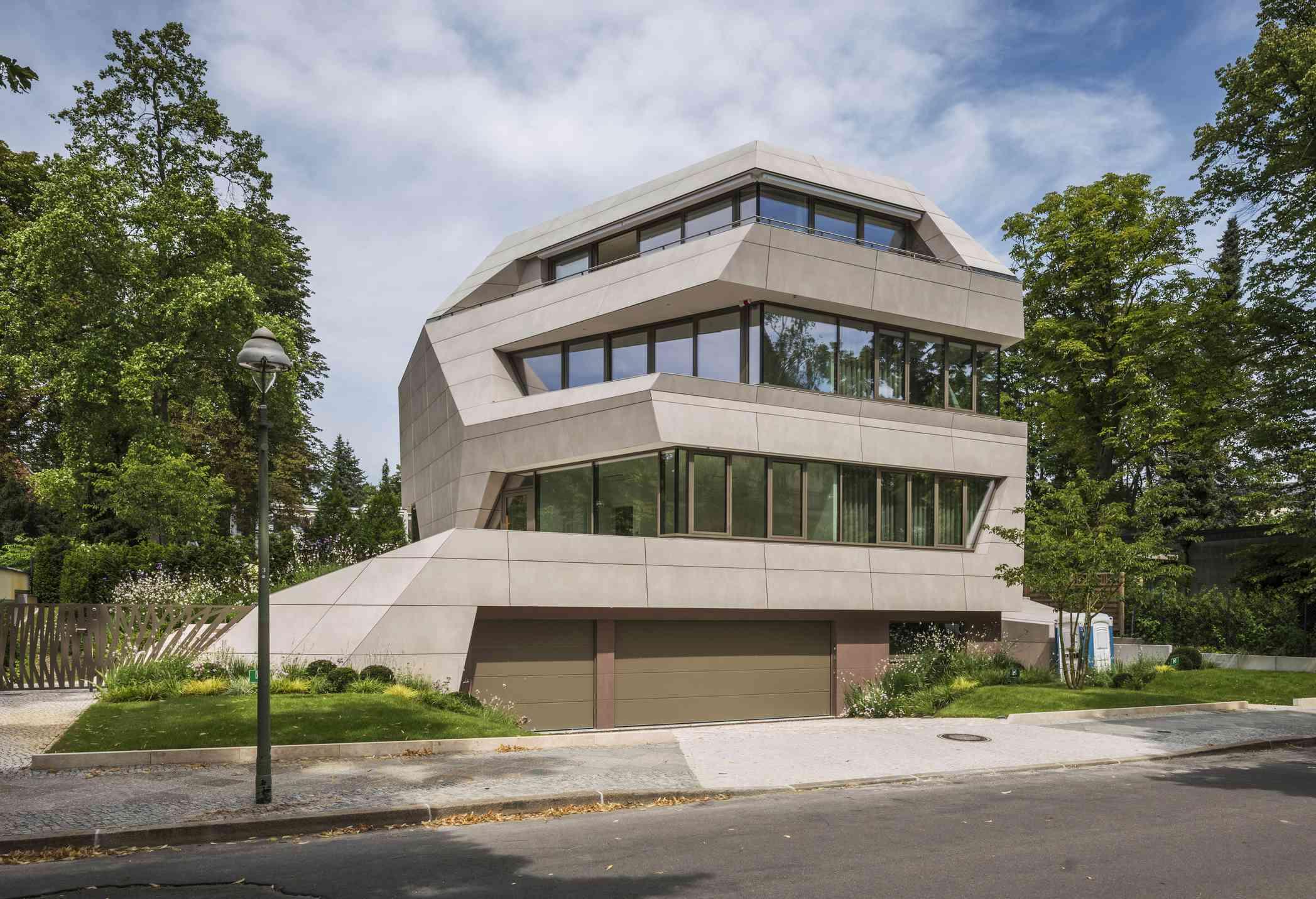 Contemporary villa in Berlin.