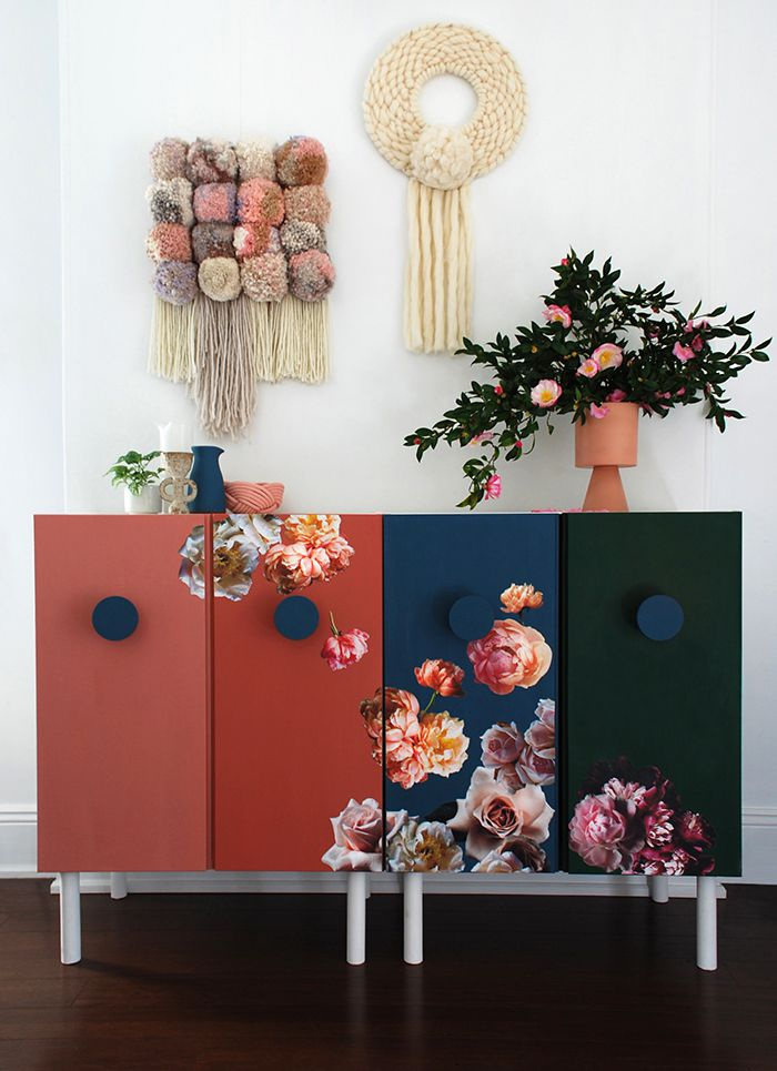 Floral cabinets