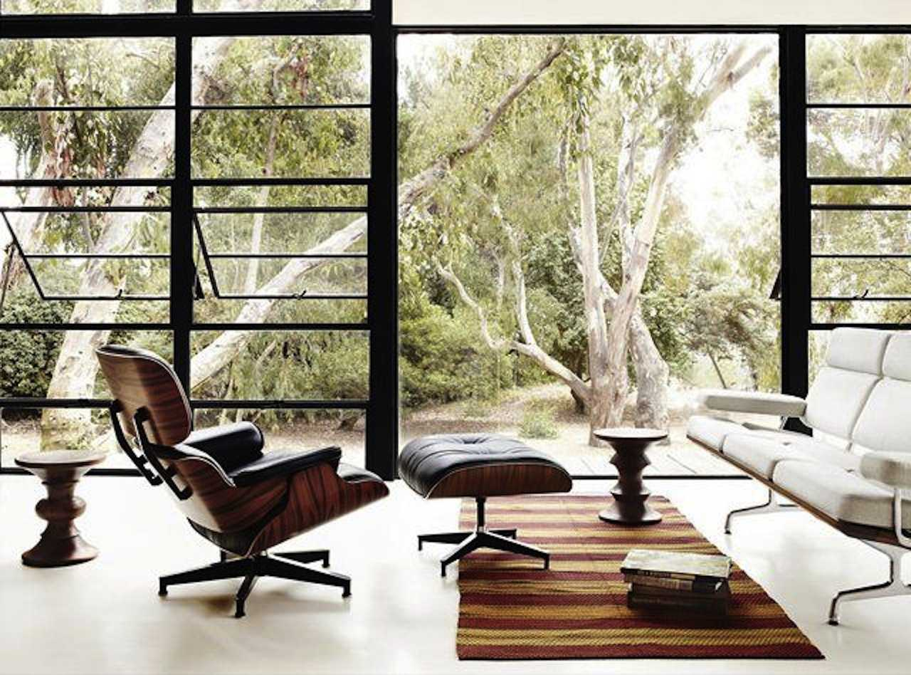 Herman Miller and Eames Lounge Chair