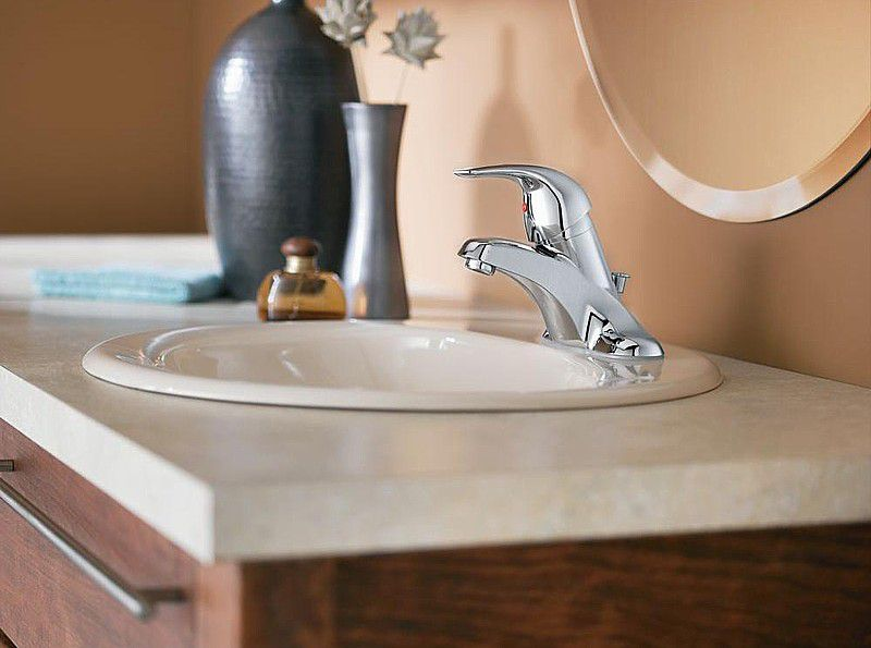 Installing a New Bathroom Faucet in a New Vanity Top