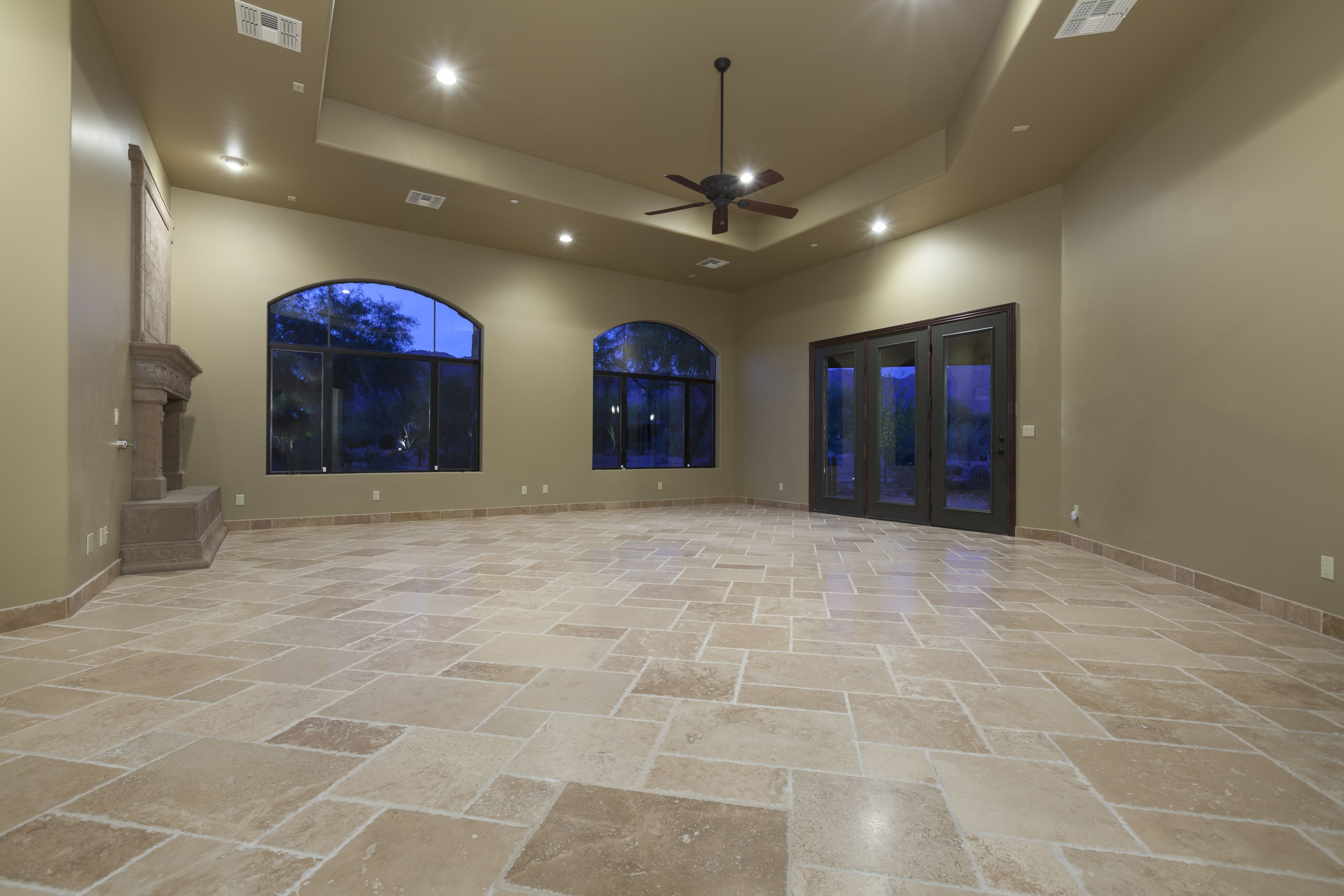 Heres How To Clean Travertine Flooring