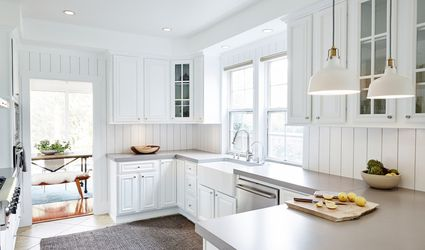 shiplap kitchen