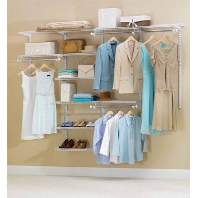 Rubbermaid Configurations Closet Kits, 4'-8'