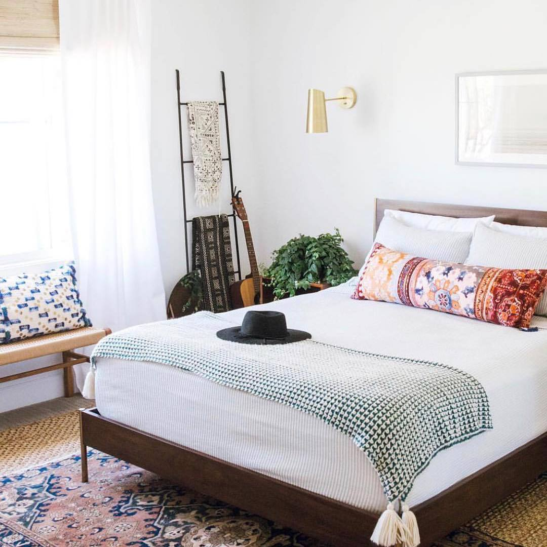 painted bedroom makeover