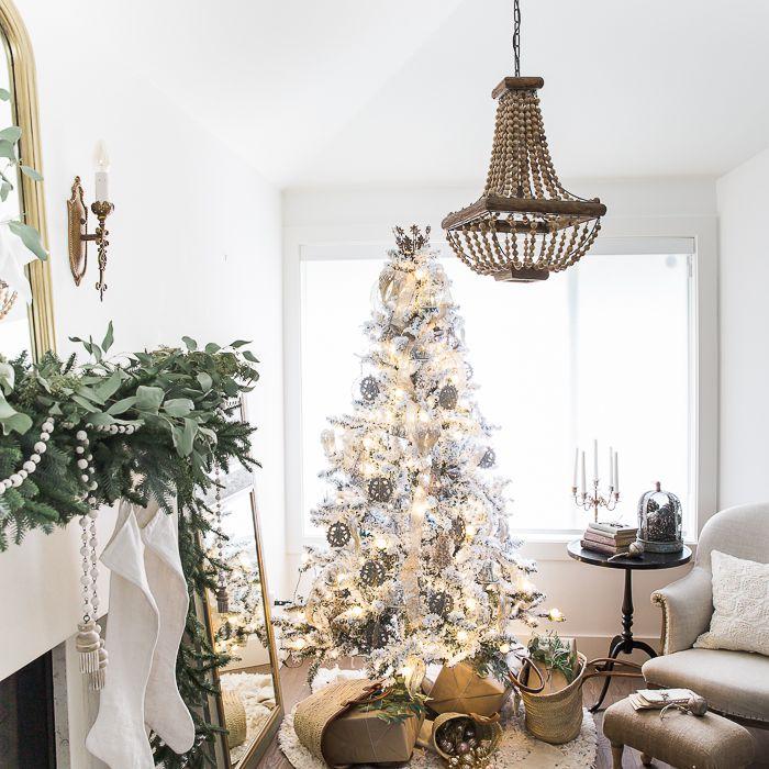 metallics christmas tree