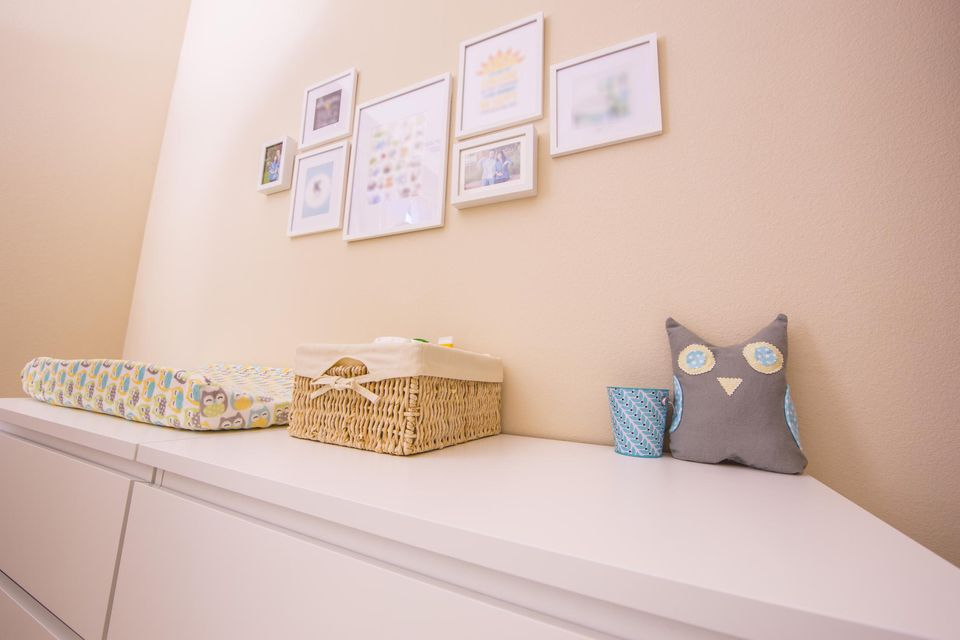 Changing table alternative: Dresser/ changing table combo
