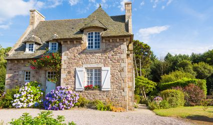 A French Provincial home in Brittany.