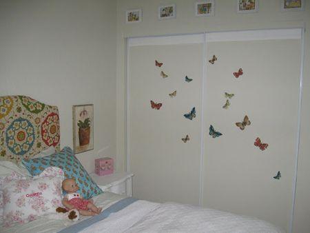 Decorate Children S Closet Doors With Decals