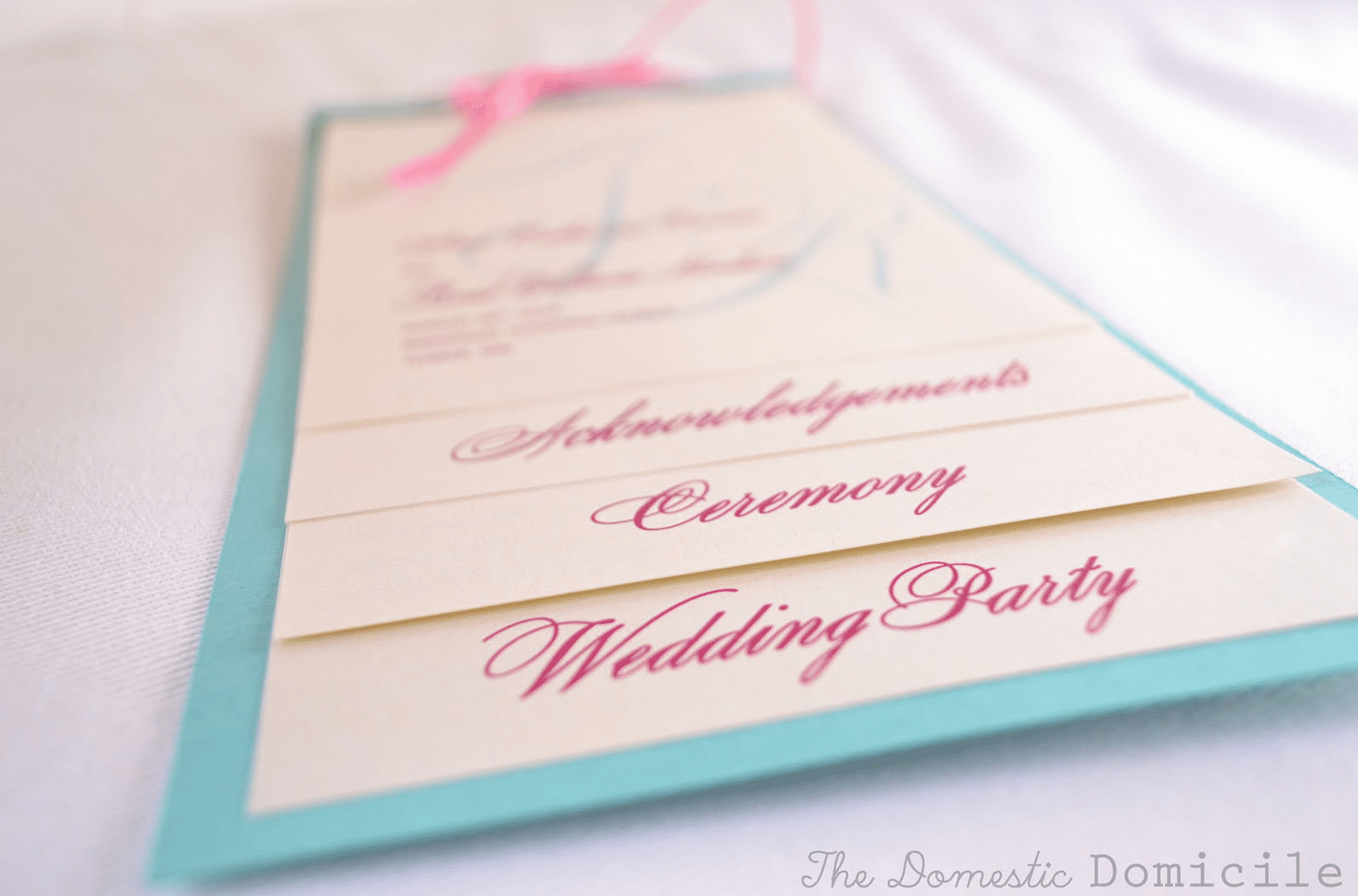 Free Wedding Program Templates You Can Customize - Photoshop wedding program template