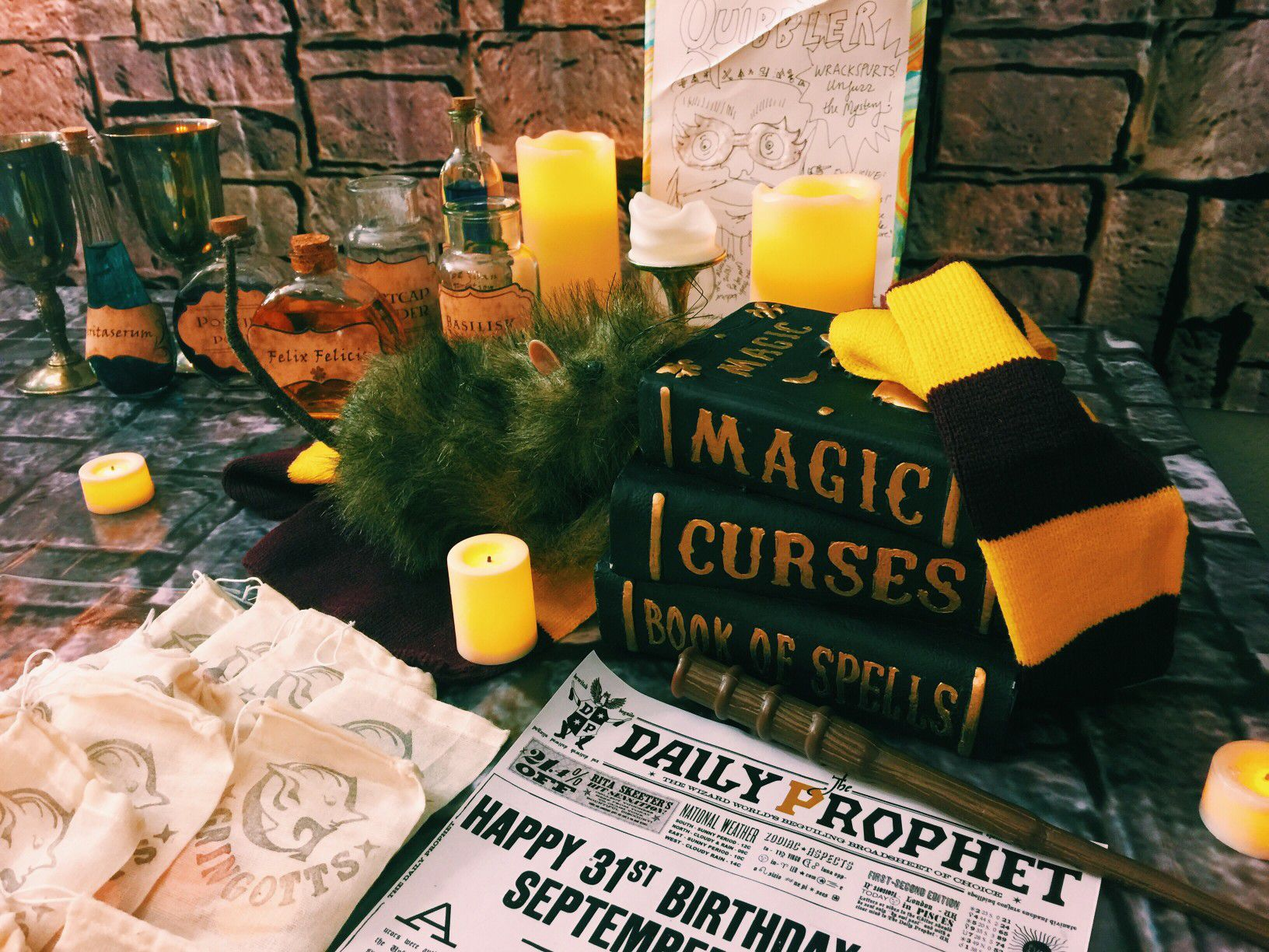 23 Magical Ideas for the Ultimate Harry Potter Party